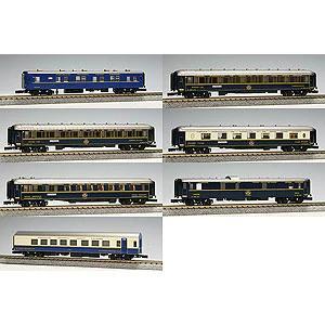 【KATO/カトー/関水金属】オリエントエクスプレス'88 基本(7両) 鉄道模型 Nゲージ 客車 PC[▲][ホ][F]
