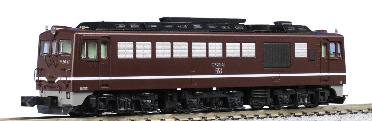【KATO/カトー/関水金属】DF50 茶 鉄道模型 Nゲージ ディーゼル機関車[▲][ホ][F]
