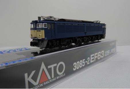 【KATO/カトー/関水金属】EF63 2次形 JR仕様 鉄道模型 Nゲージ 電気機関車[▲][ホ][F]