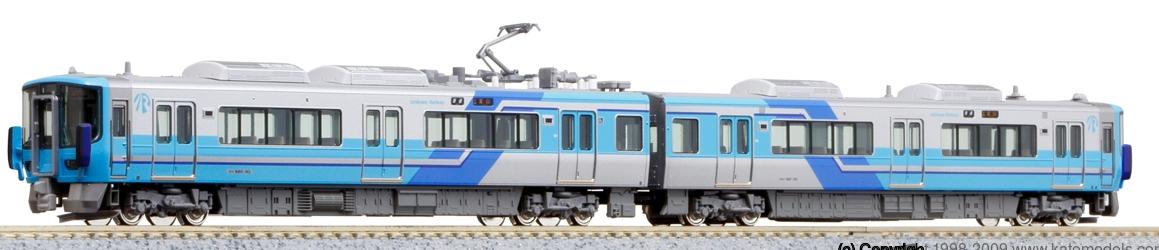 【KATO/カトー/関水金属】IRいしかわ鉄道521系(藍系) (2両) 鉄道模型 Nゲージ[▲][ホ][F]