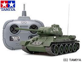 【クーポン利用で50円OFF!】【タミヤ/TAMIYA】1/35RC T-34-85 中戦車(4chユニット付)[▲][ホ][F]