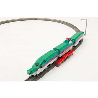 【カワダ/KAWADA/河田】 nGS-002 ベーシックフルセット E5系新幹線 はやぶさ おもちゃ ブロック 知育玩具 nanoブロック nanoゲージ[▲][ホ][K]