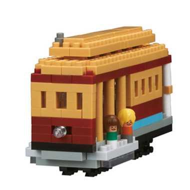【カワダ/KAWADA/河田】 NB-030 nanoblock 帆船 おもちゃ ブロック 知育玩具 nanoブロック リアルホビーシリーズ[▲][ホ][K]