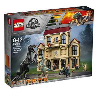 【レゴジャパン/LEGO】 75930 インドラプトル、ロックウッド邸で大暴れ おもちゃ ブロック 知育玩具 レゴ[▲][ホ][K]