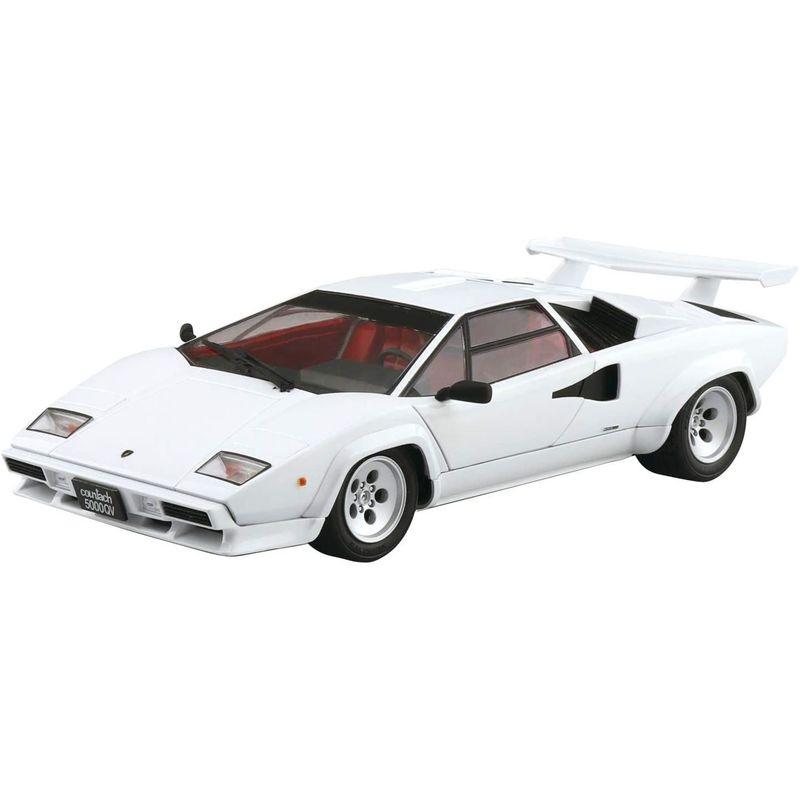 アオシマ 公式ショップ 1 24 ザ スーパーカーシリーズ No.9 1985 ランボルギーニ ホ 倉 模型 プラモデル カウンタック F 5000QV ホビー