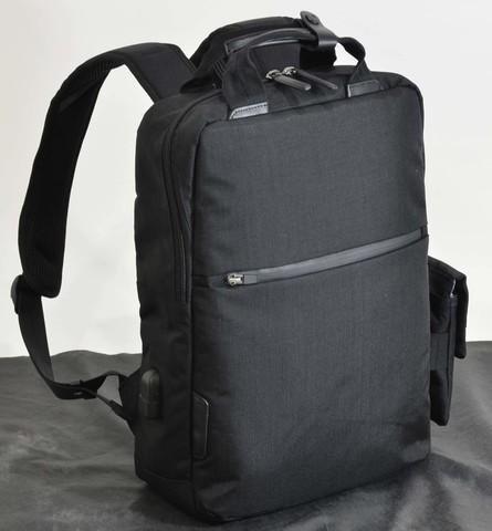 <title>エンドー鞄 NEOPRO CONNECT ThinPack バックパック リュックサック デイパック 多機能 高耐久 おすすめ USBポート スマホポーチ 黒 耐水 送料無料/新品 防水 耐摩擦性 4560106786520 EN</title>