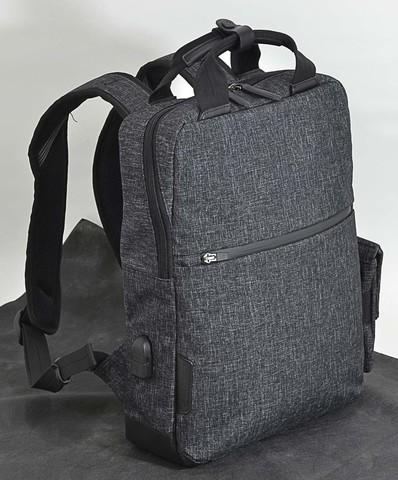 エンドー鞄 セール開催中最短即日発送 NEOPRO CONNECT ThinPack バックパック リュックサック デイパック 多機能 高耐久 防水 耐摩擦性 杢黒 おすすめ スマホポーチ 期間限定特別価格 耐水 4560106786537 EN USBポート