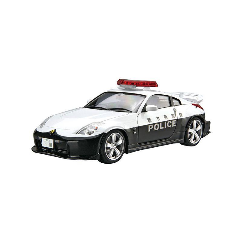 アオシマ 迅速な対応で商品をお届け致します 1 24 ニッサン 男女兼用 Z33 フェアレディZ バージョンニスモ '07 ホ パトロールカー F