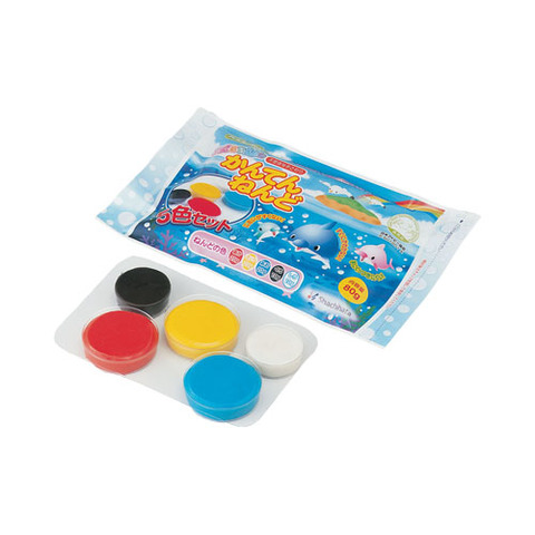 かんてんねんど 5色セット シャチハタ しゃちはた 粘土 食品素材 におい 少ない 想像力 ●手数料無料!! お歳暮 保育 子供 安全 色彩感覚 SH NEK-5S おすすめ