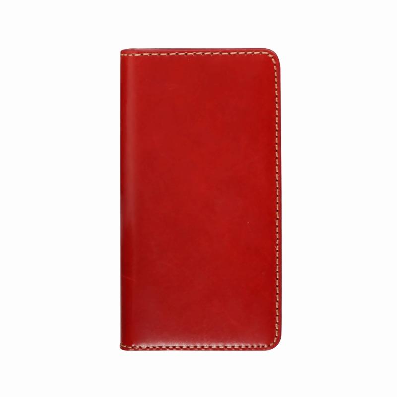 【LAYBLOCK(レイブロック)】手帳型スマホケース iPhone XS Max Tuscany Belly レッド スマートフォンケース スマホケース 手帳型ケース[▲][R]