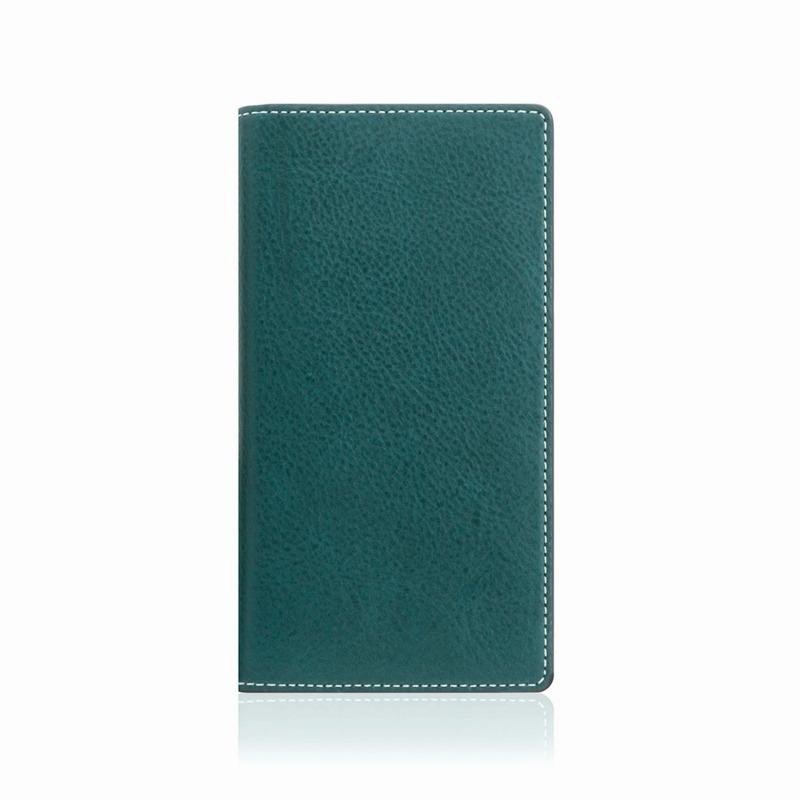 【SLG Design(エスエルジーデザイン)】手帳型スマホケース iPhone XS Max  Minerva Box Leather Case ブルー スマートフォンケース スマホケース 手帳型ケース[▲][R]