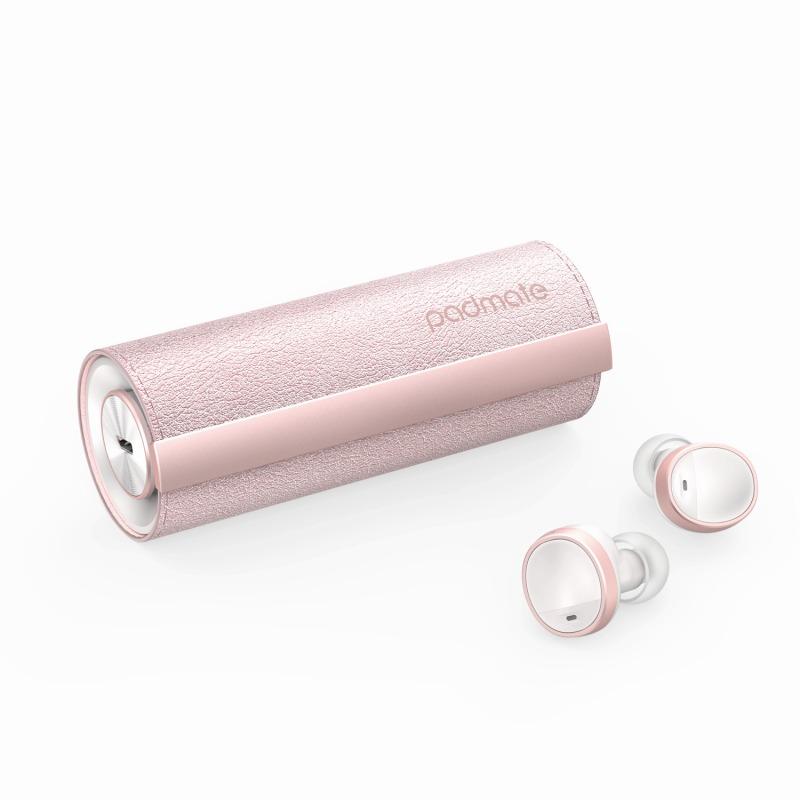 【Padmate】完全ワイヤレスイヤホン PaMuScroll Plus Sakura+ワイヤレス充電レシーバー ワイヤレスイヤホン bluetoothイヤホン イヤホン[▲][R]