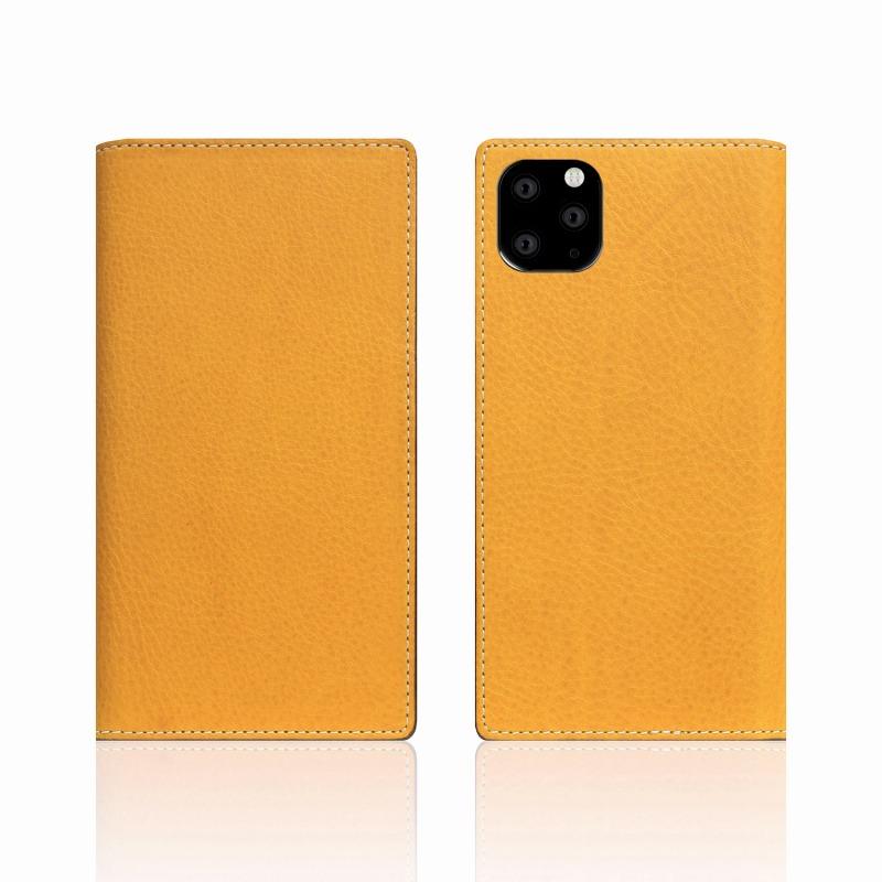 【SLG Design(エスエルジーデザイン)】iPhone 11 Pro Minerva Box Leather Case タン スマートフォンケース スマホケース 手帳型ケース[▲][R]