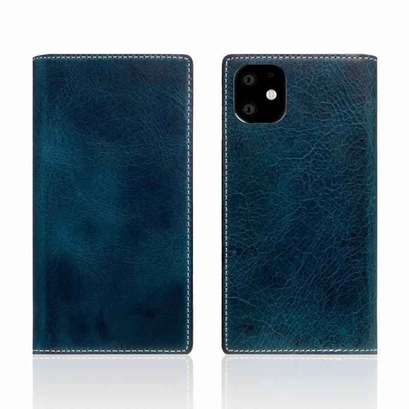 【SLG Design(エスエルジーデザイン)】iPhone 11 Badalassi Wax case グリーン スマートフォンケース スマホケース 手帳型ケース[▲][R]