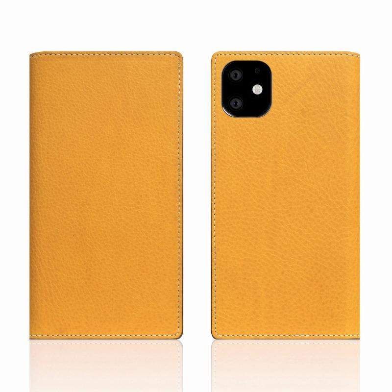 【SLG Design(エスエルジーデザイン)】iPhone 11 Minerva Box Leather Case タン スマートフォンケース スマホケース 手帳型ケース[▲][R]