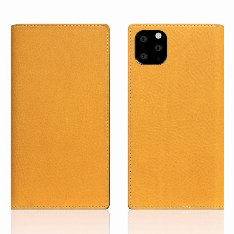 【SLG Design(エスエルジーデザイン)】iPhone 11 Pro Max Minerva Box Leather Case タン スマートフォンケース スマホケース 手帳型ケース[▲][R]