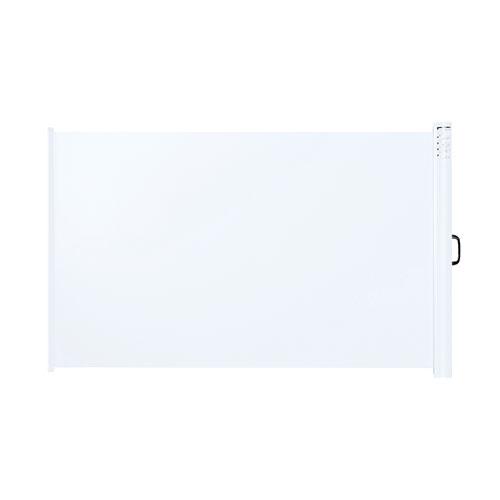 [サンワサプライ]プロジェクタースクリーン(マグネット式ケース一体型)【▲】