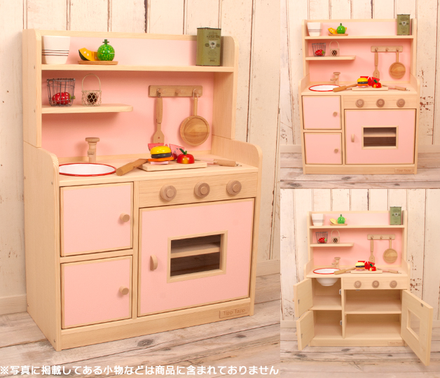 Kitchen Paint Type: Rakuten Global Market: Very Popular! Wooden House Kitchen Popular Color デラックスハイ Type