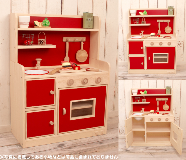 Child birthday present 1 year old 2 years old 3 years old of the toy  playing house kitchen playing house kitchen woman of the wooden playing  house ...