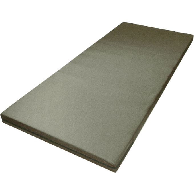かたわたマットレス 83cm幅 83×191×8 ブラウン ウェルファン 適度な硬さで快適な寝心地 介護用品