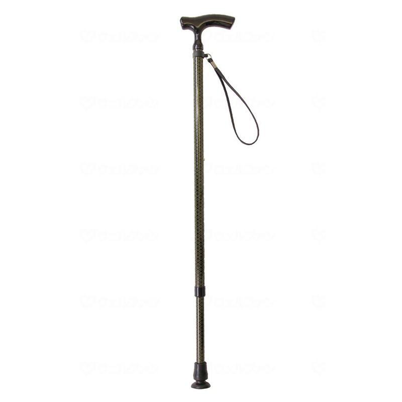 テイコブ 伸縮カーボンステッキ CAE01-BK ブラック 幸和製作所 伸縮杖 伸縮タイプ 介護用品 シニア向け 高齢者
