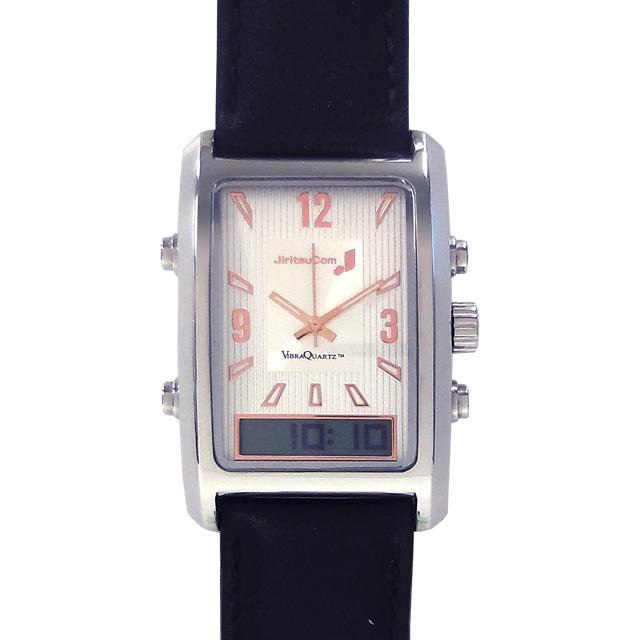 自立コム 振動腕時計 バイブラクオーツJ 黒 VQ500JBM