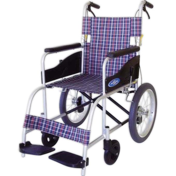 NEOシリーズ 介助式 NEO-2 座幅40cm NEO-2 日進医療器 JIS-QAP認証付ノーパンク車椅子