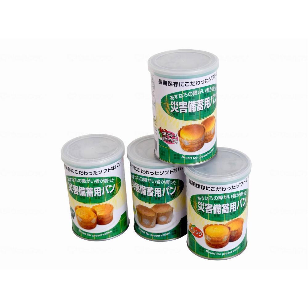 特殊衣料 災害備蓄用パン 24缶 ケース クランベリー&ホワイトチョコ