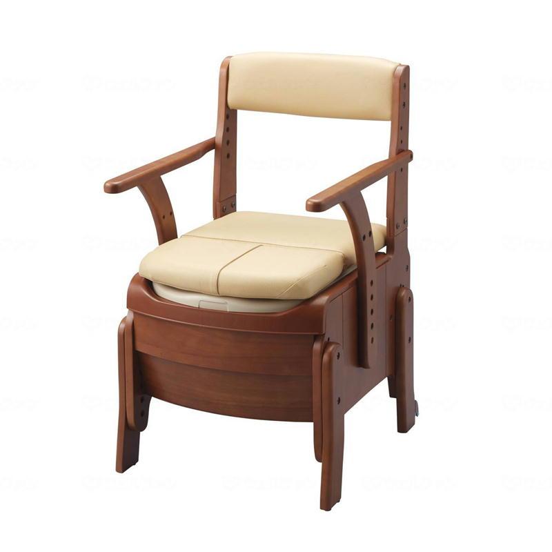 アロン化成 安寿 家具調トイレ セレクトR 自動ラップタイプ ソフト便座 533941