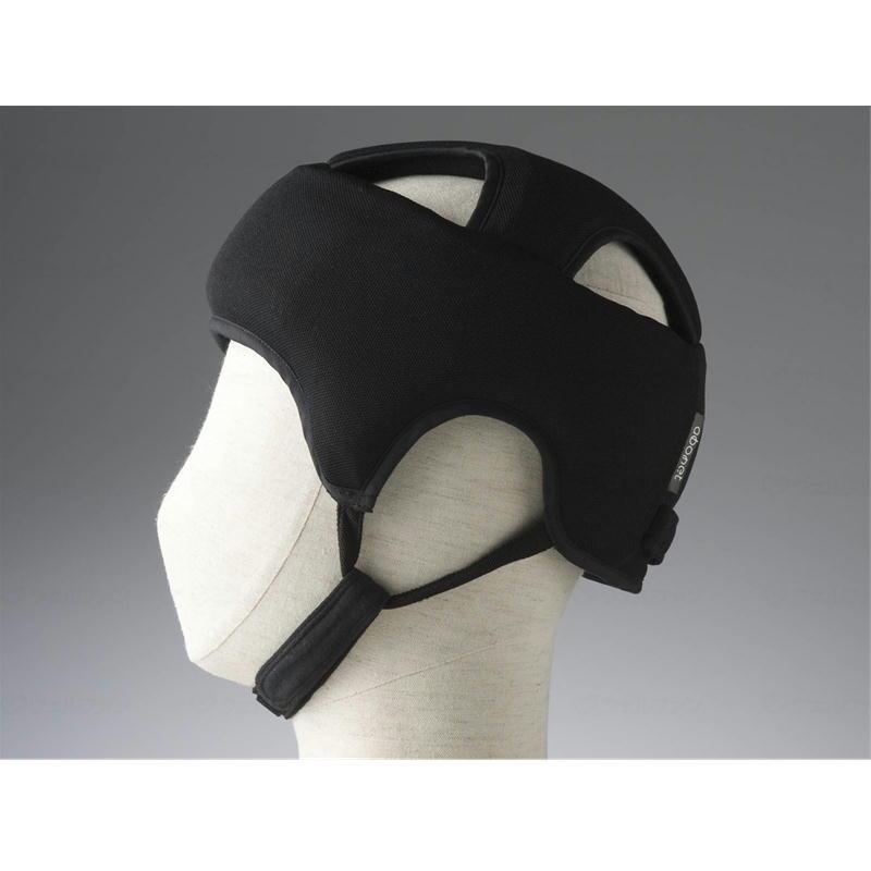 頭を全体的に守る保護帽子 サイズ調節可能 あごひも付き 抗菌 出群 防臭 浅型 全方向衝撃吸収型 59~61cm対応 ブラック 2072 特殊衣料 アボネットガードA 介護用品 ディスカウント L スタンダードN