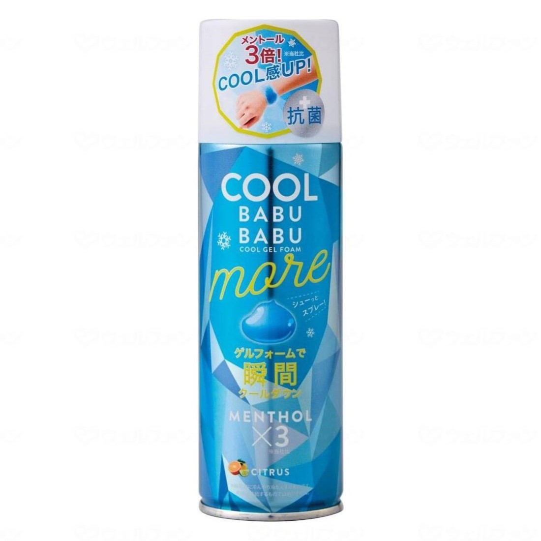 熱中症対策グッズ 70%OFFアウトレット 冷たいスプレー 冷却ジェル 暑い夏に最適 瞬間クールダウン 熱中症対策 MORE コジット 冷却スプレージェル 夏用 BABUBABU COOL 人気の製品