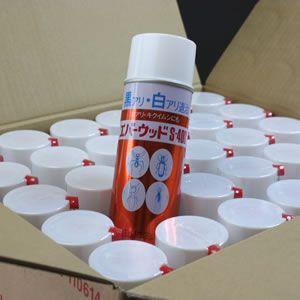 エバーウッドS-400 420ml x 30本入/ケース販売シロアリ・キクイムシ用殺虫剤スプレー