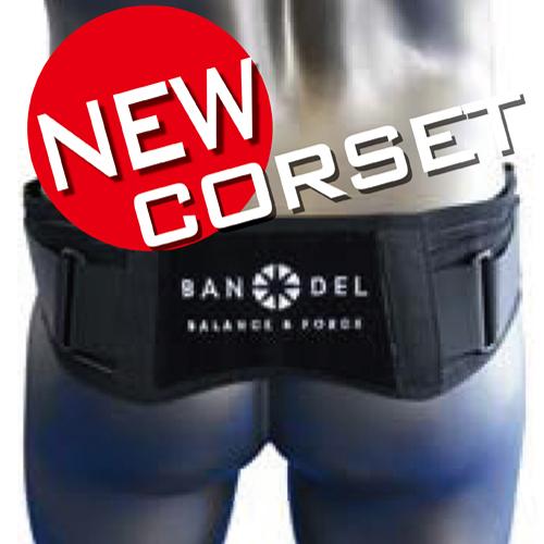 【送料無料】 BANDEL バンデル supporter サポーター コルセット/ウエストベルト/ベルト/スポーツ/腰痛/corset/腰/サポーター/骨盤/