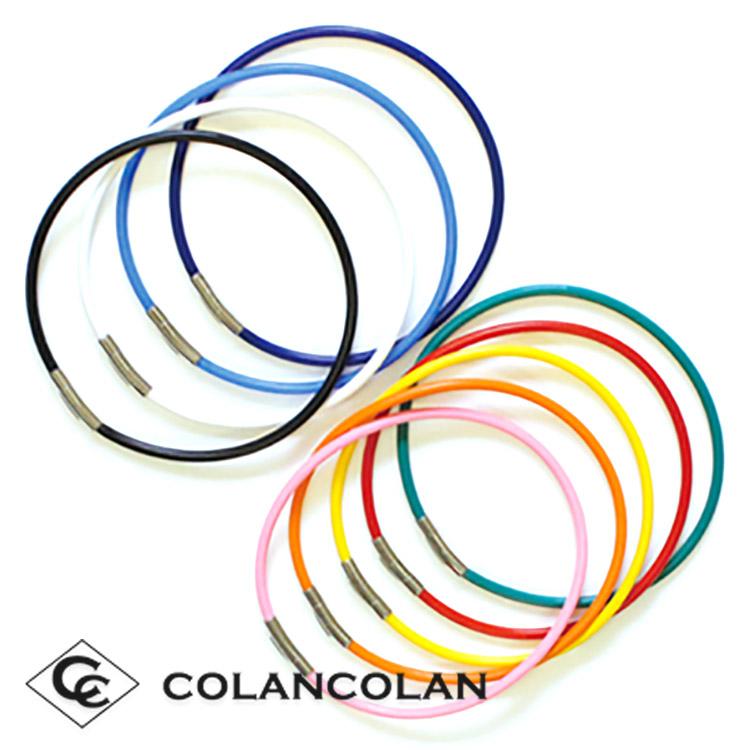 送料無料 コランコラン スポーツ プライム(colancolan Sports Prime) 天然鉱石含有の男女兼用マイナスイオンネックレス