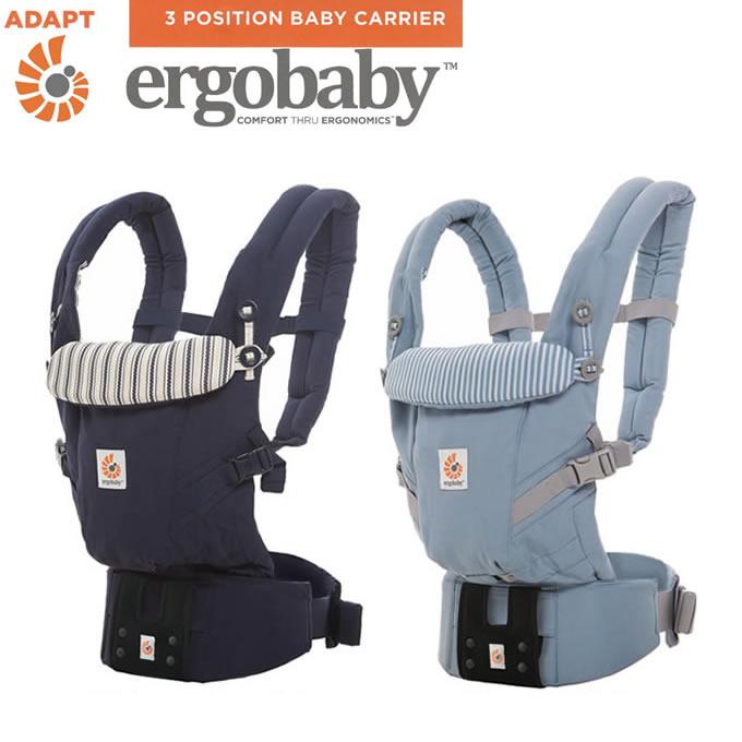 ERGObaby エルゴベビー・ベビーウエストベルト付・ADAPT アダプト ベビーキャリア SG対応 正規品 (エルゴベビー 抱っこひも 抱っこ紐 だっこひも 赤ちゃん お祝い 出産祝い ギフト プレゼント 送料無料)
