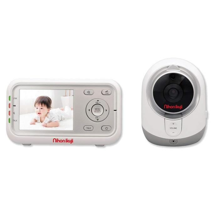 スマートビデオモニター(ベビー モニター 赤ちゃん baby) 日本育児 デジタルカラー