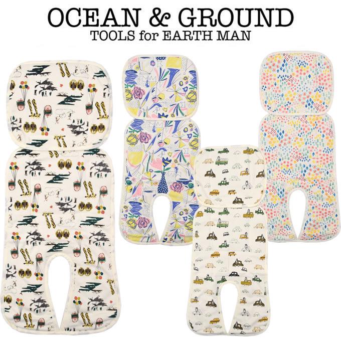 OCEAN & GROUND(オーシャン アンド グラウンド) ベビーカー冷え冷えシート(暑さ対策 グッズ 赤ちゃん ベビーカー 保冷シート 保冷剤 冷却シート 夏 子供 熱中症対策グッズ)