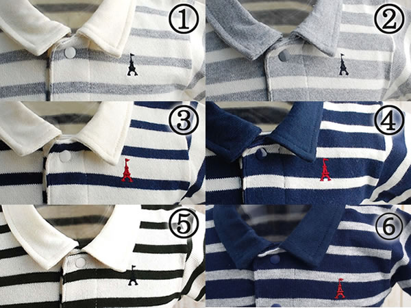 f08203ca1 ... Product made in polo shirt Japan for the Anna Nicola (Anna Nichola)  horizontal stripes ...