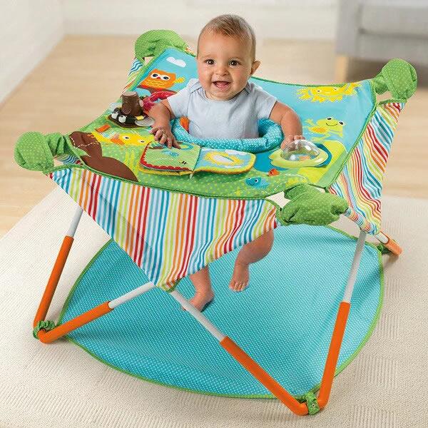 日本育児 コンパクトにたためる ポップアップジャンパー(歩行器 ベビー ジャンプ 赤ちゃん おもちゃ 遊具 ベビーウォーカー 室内遊具 ベビー 歩行器 ベビージム ベビーチェア 赤ちゃん プレゼント 誕生日 出産祝い ギフト baby chair)