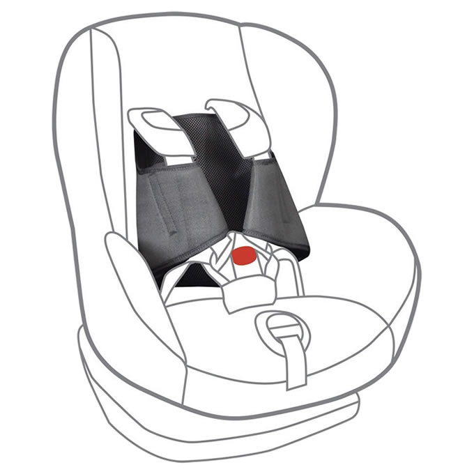 Hohoemi Koubou Zoe Not Come Out Japan Child Seat Car Seat Slip