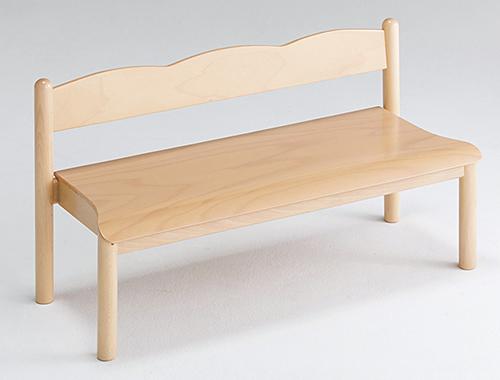 【代金引換不可】【お客様都合による返品交換不可】木製ワイドベンチ 保育用品