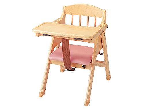 【代金引換不可】【お客様都合による返品交換不可】乳児用木製いす・らくらく 保育用品