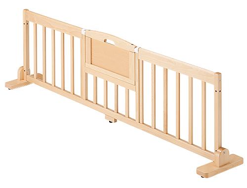 【代金引換不可】【お客様都合による返品交換不可】スペースパーティション・木調 出入り口付き・L180 保育用品