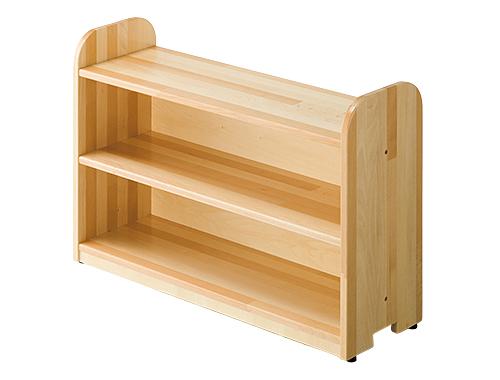 【代金引換不可】【お客様都合による返品交換不可】スペースパーティション・木調 フリーラック 保育用品