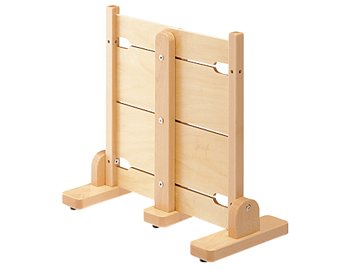 【代金引換不可】【お客様都合による返品交換不可】スペースパーティション・木調 スライドパネル・S 保育用品