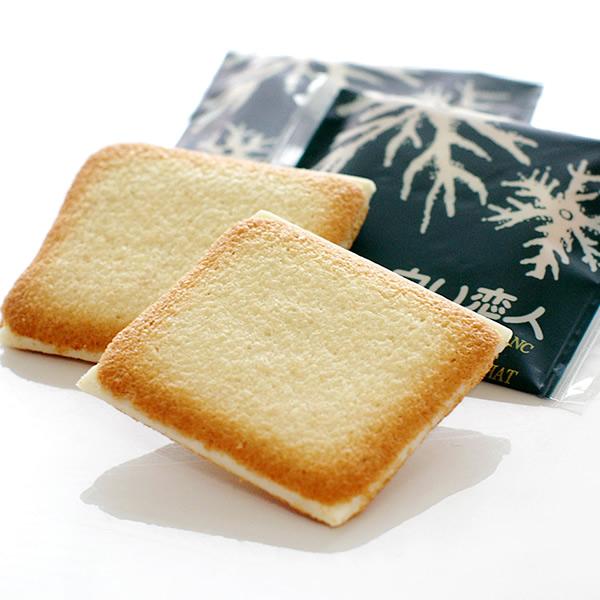 石匠制果白色的恋人27张装的礼物微型礼物礼物糕点点心罐rangudosha烤点心巧克力巧克力白巧克力饼干