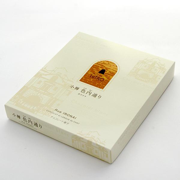 [LeTAO] 小樽色内通 ~ 白巧克力 (18枚)