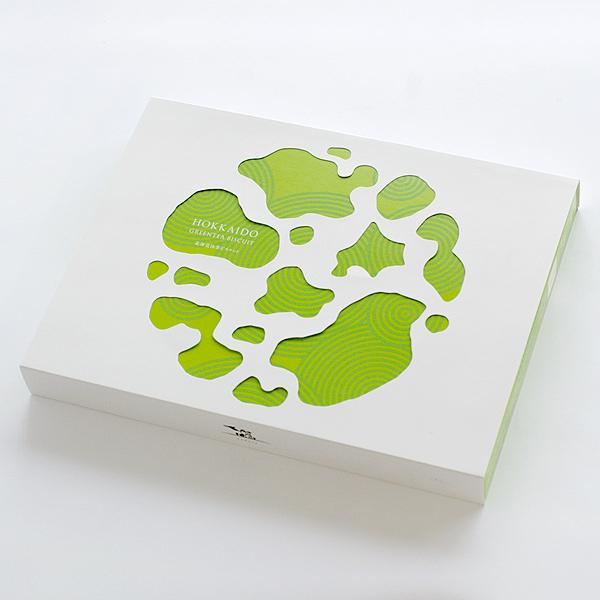 [KITAMI SUZUKI] nodoca HOKKAIDO GREEN TEA BISCUIT