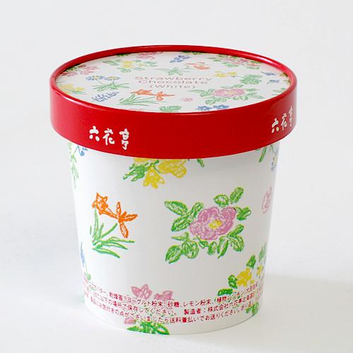 六花亭 草莓巧克力 (白) /  存放在室温25℃以下