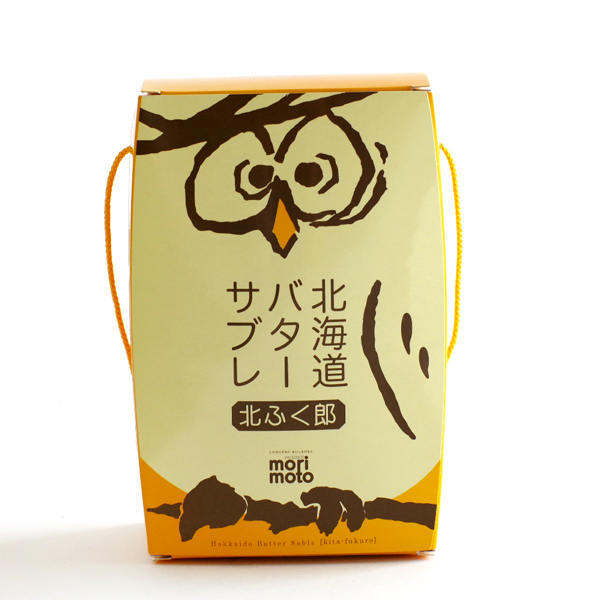 [morimoto] 北海道黄油饼干 北福郎